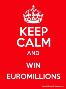 royal euromillions poster