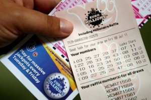 British winner took €129 million EuroMillions Superdraw jackpot in June 2015