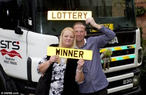 Winning the lottery is not easy, how about winning it twice?