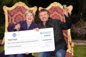 This is how to celebrate a EuroMillions win