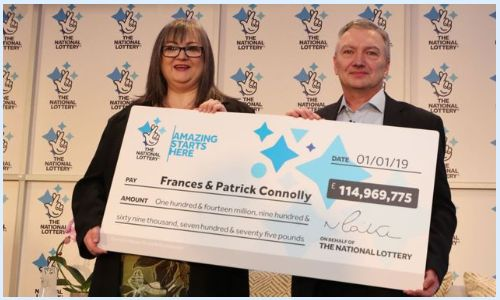 frances and patrick connolly euromillions winners